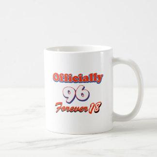 96th year old birthday designs coffee mug