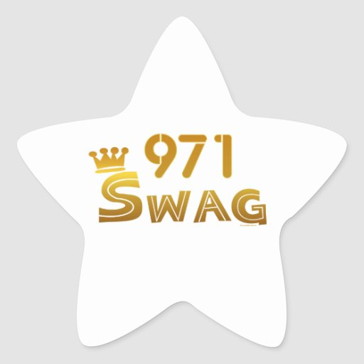 971 Oregon Swag Star Stickers