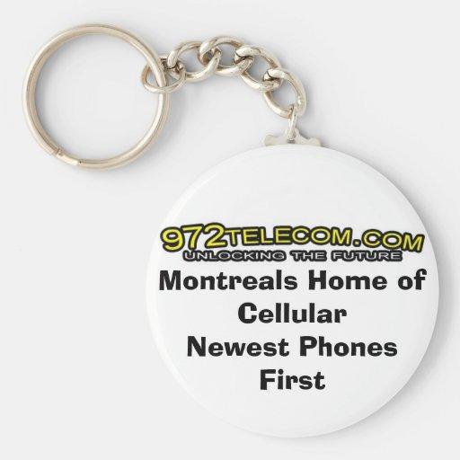 972telecom.com Montreal's Home of Cellular Key Chains