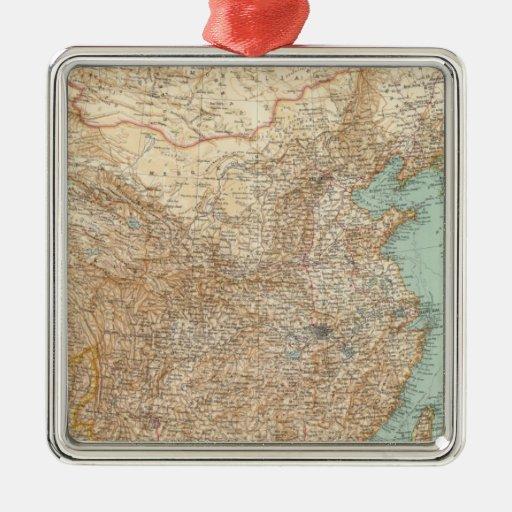 9798 dominio chino, imperio japonés ornamentos de navidad