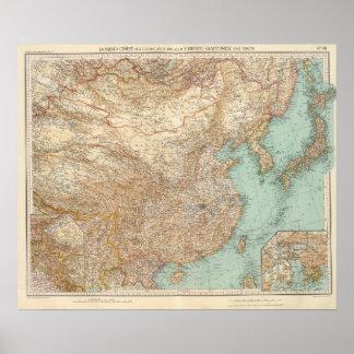 9798 dominio chino, imperio japonés poster