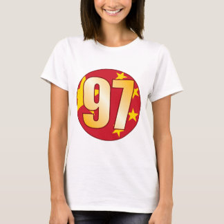 97 CHINA Gold T-Shirt