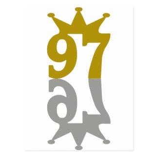 97-Crown-Reflection Tarjeta Postal