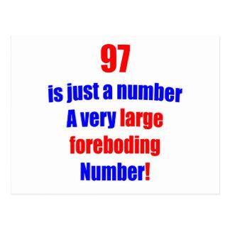 97 es apenas un número postal