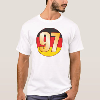 97 GERMANY Gold T-Shirt