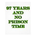 97 ninguna hora de prisión membrete