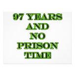 97 No prison time Announcement