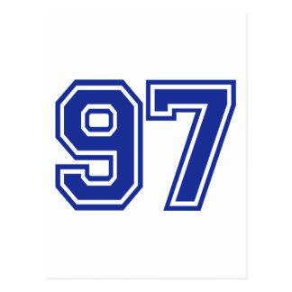 97 - número postal