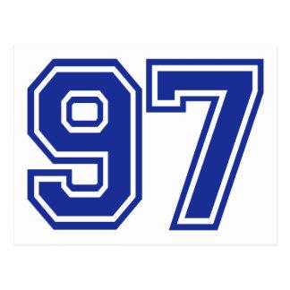 97 - número postales