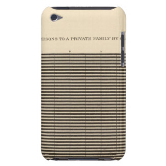 97 Persons to a family Case-Mate iPod Touch Case