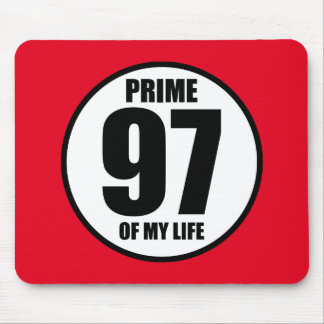 97 - prime of my life mouse pad