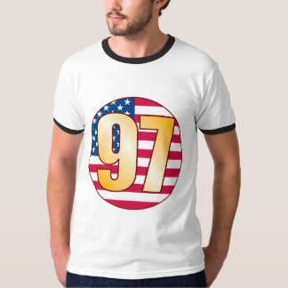 97 USA Gold T-Shirt
