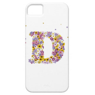 97th Birthday party, with flowered letters iPhone SE/5/5s Case