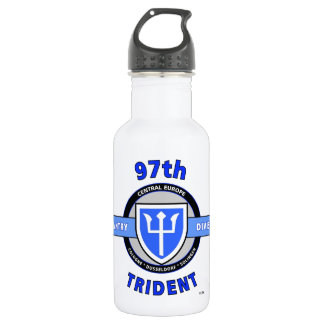 "97TH INFANTRY DIVISION ""TRIDENT"" DIVISION 18OZ WATER BOTTLE"