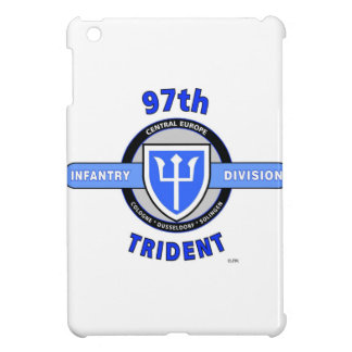 """97TH INFANTRY DIVISION """"TRIDENT"""" DIVISION iPad MINI COVER"""
