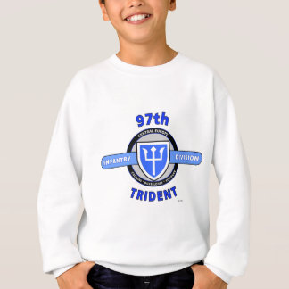 "97TH INFANTRY DIVISION ""TRIDENT"" DIVISION SWEATSHIRT"