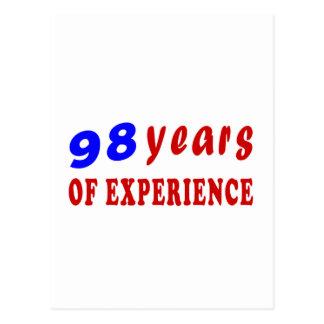 98 años de experiencia postal
