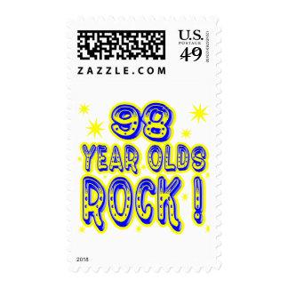 ¡98 años de la roca! (azul) franqueo