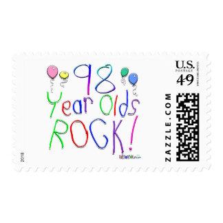 ¡98 años de la roca! franqueo
