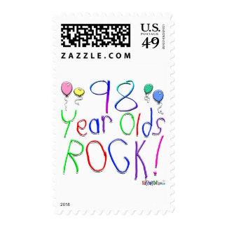 ¡98 años de la roca! sello