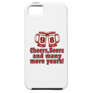 98 Cheers Beer Birthday iPhone SE/5/5s Case