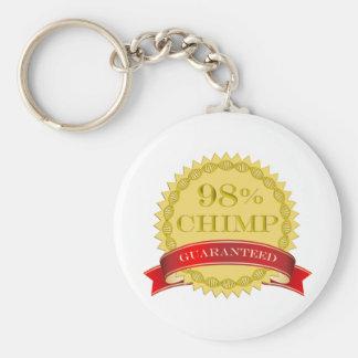 98% Chimp - Guaranteed Keychain