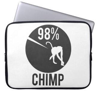 98% chimp laptop sleeve