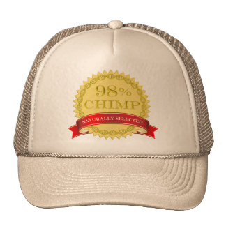 98% Chimp - Naturally Selected Trucker Hat