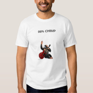 98% CHIMP PLAY GUITAR SHIRT