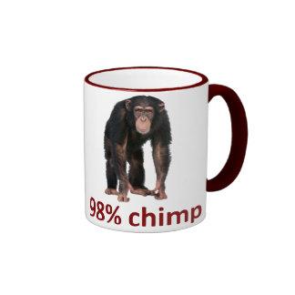 98% chimp ringer mug