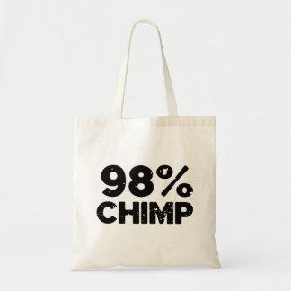 98 Chimp Tote Bag