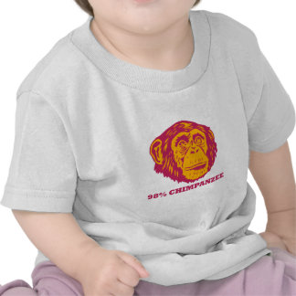 98% Chimpanzee T Shirt