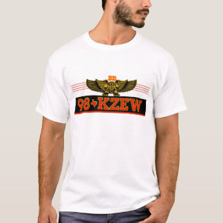 98 KZEW Orange Black T-Shirt