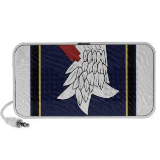 98.o Militares del remiendo del grupo 3,5 de la bo Notebook Altavoces