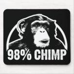 98 Percent Chimp Mousepads