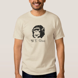 98 Percent Chimp tee