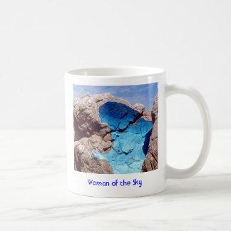 #98 Woman of the Sky.2ZP100.1a, WW Logo.3af.2x2... Classic White Coffee Mug