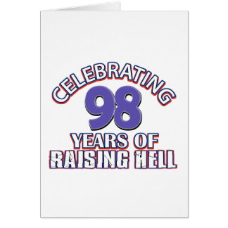 98 year old designs card