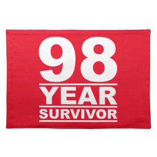 98 year survivor placemat