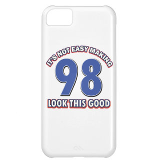 98th birthday designs case for iPhone 5C
