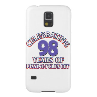 98th birthday designs galaxy s5 covers
