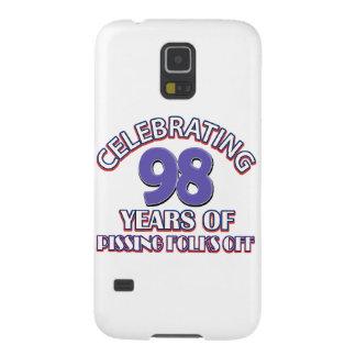 98th birthday designs galaxy s5 covers