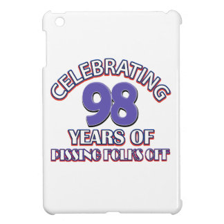 98th birthday designs iPad mini cover