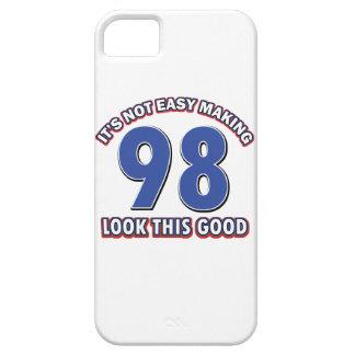98th birthday designs iPhone SE/5/5s case