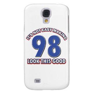 98th birthday designs samsung s4 case