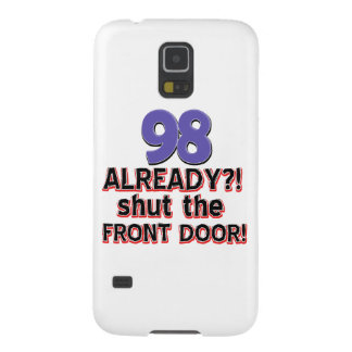 98th year old birthday designs galaxy s5 cases