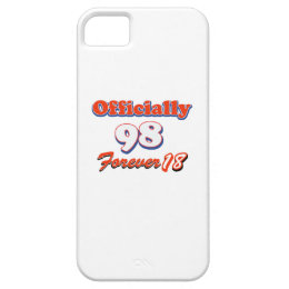 98th year old birthday designs iPhone SE/5/5s case