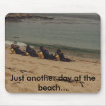 990105052_001, Just another day at the beach... Mouse Pads