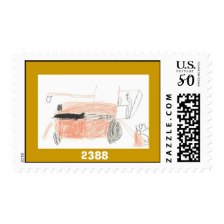 99185 Red Tractor Postage