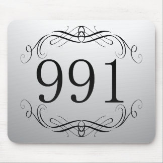991 Area Code Mouse Pad